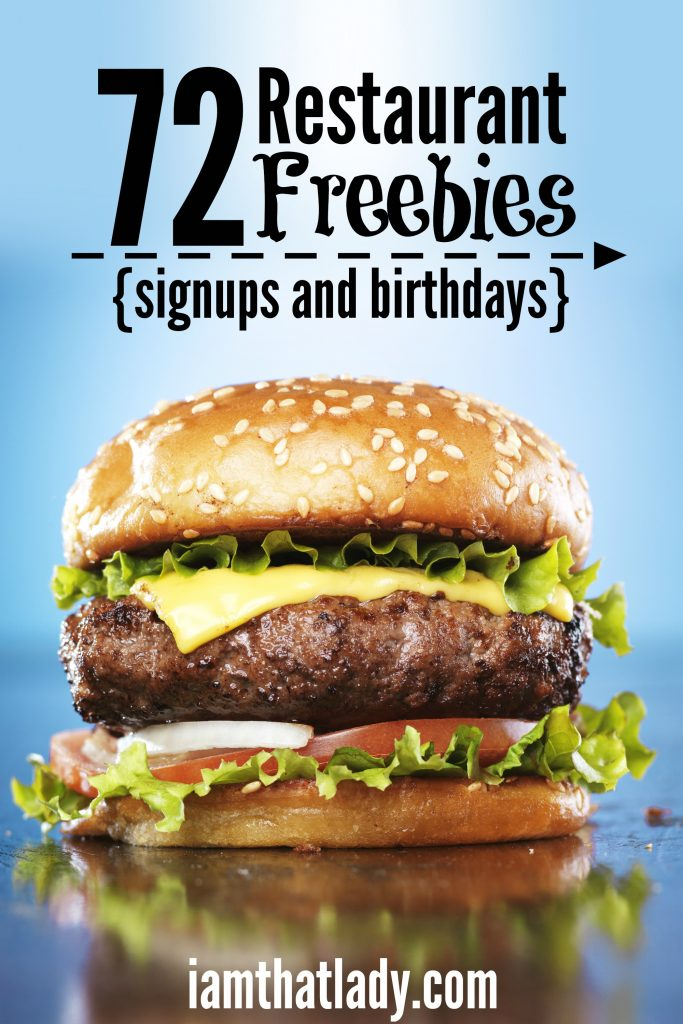 Restaurant Freebies