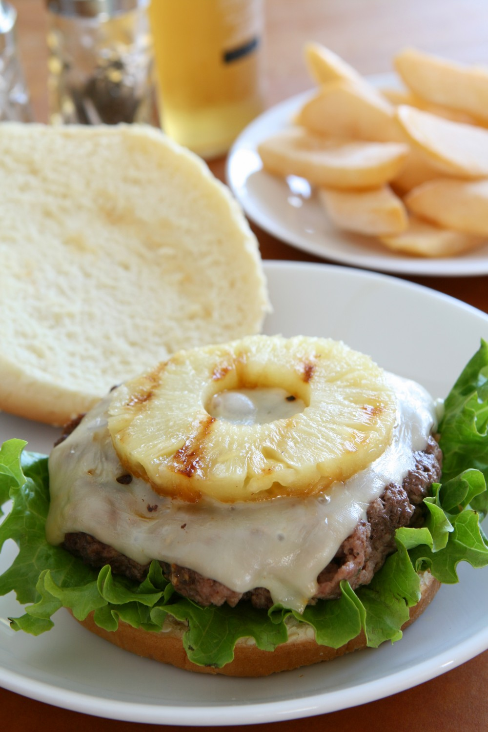 Turkey burgers don't have to be bland! And it's not just the pineapple that makes these turkey burgers so flavorful and juicy!