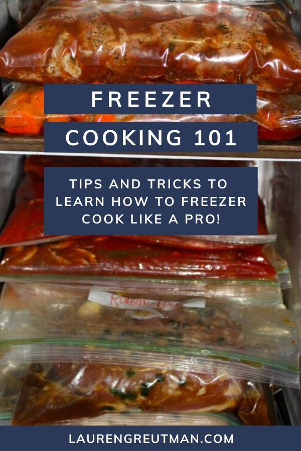 Freezer Cooking Like a Pro