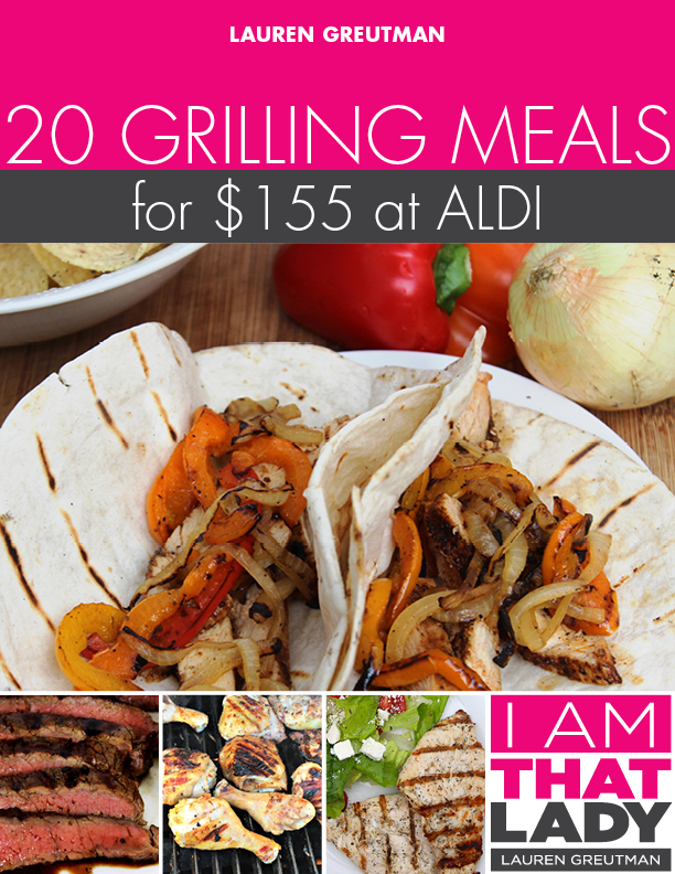 Get out your grill and prepare for a fun season of outdoor cooking with this grilling meal plan!