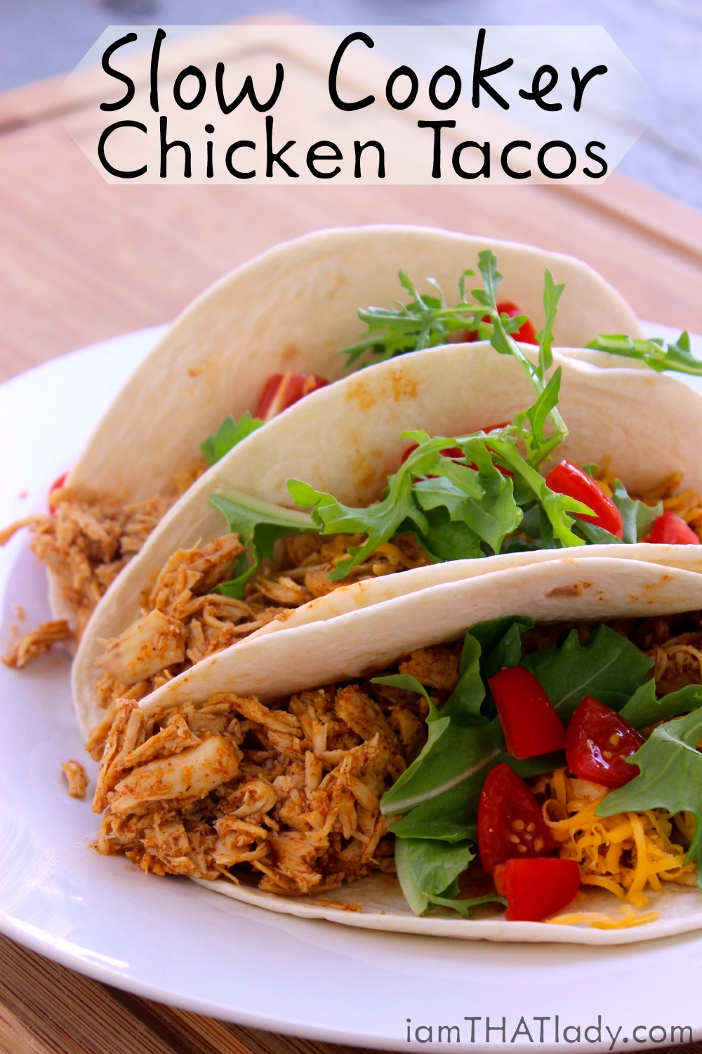 The Best Slow Cooker Chicken Tacos Easy Delicious Healthy