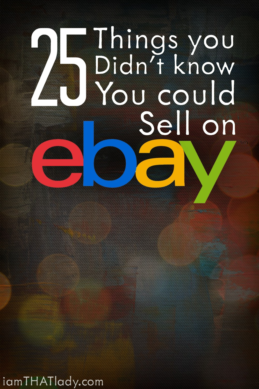 25 Things You Didn T Know You Could Sell On Ebay