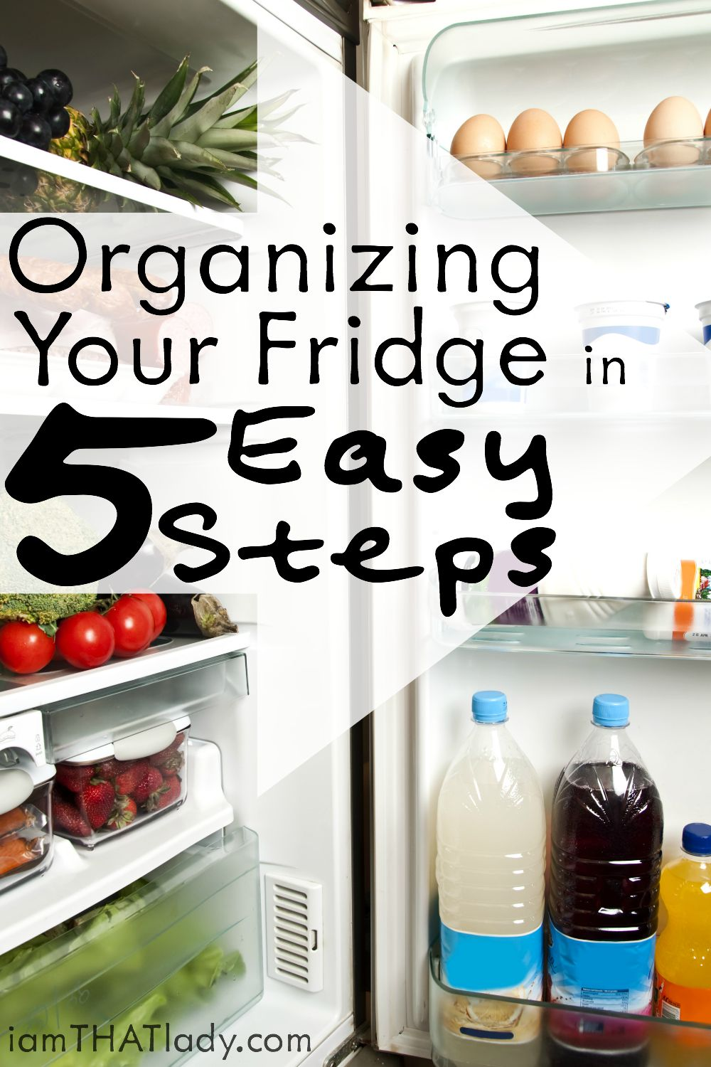 organizing your fridge