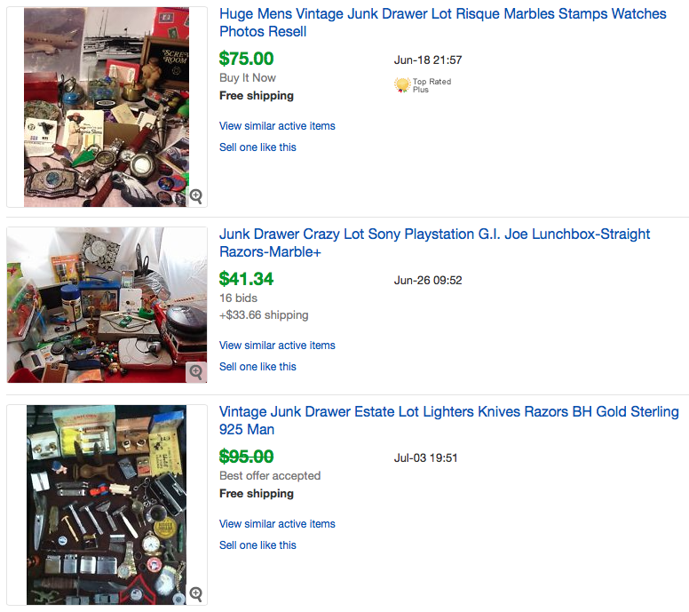 25 Things you didn't know you could sell on Ebay