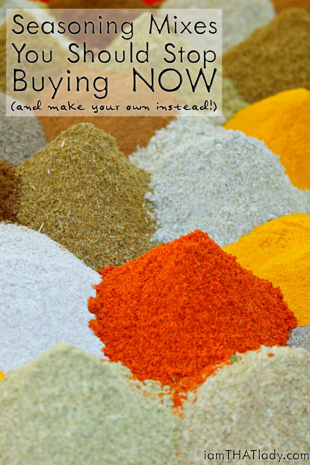 Homemade Seasoning Mix Recipes