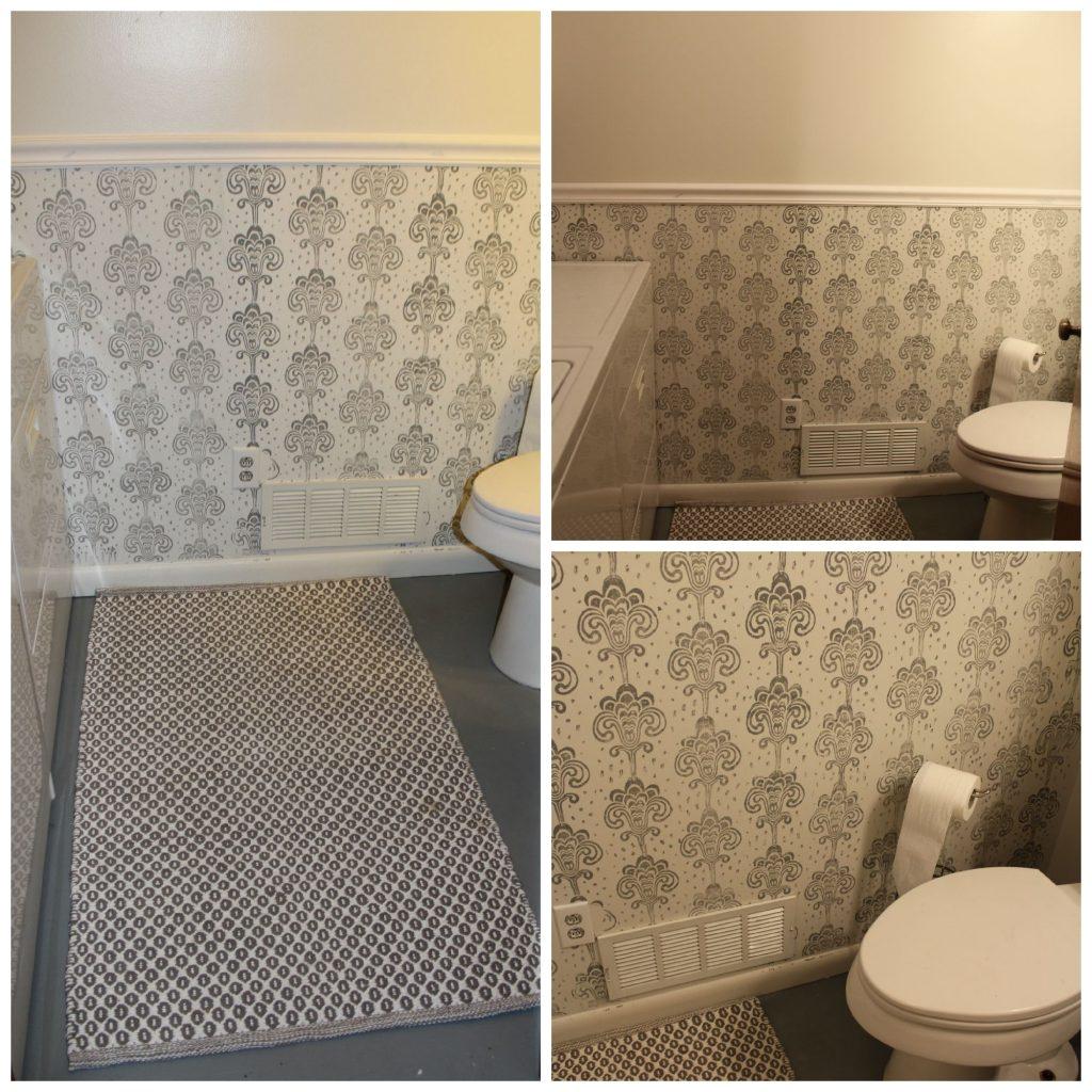 Frugal Bathroom Makeover for under $200
