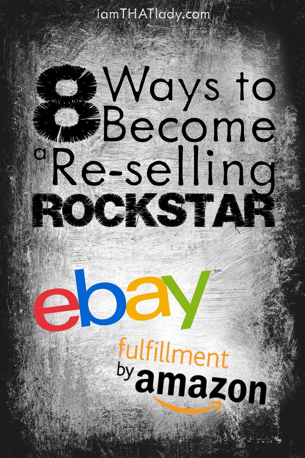 This is one of the BEST ways for a SAHM to make extra money! 8 Ways to become a Re-selling ROCKSTAR!