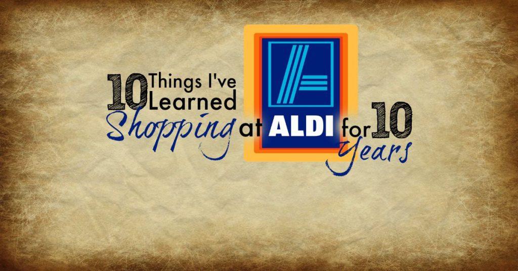10 Things Aldi FB