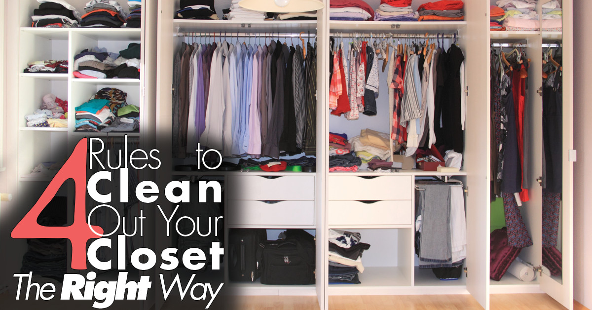 4 Rules to Clean Your Closet FB