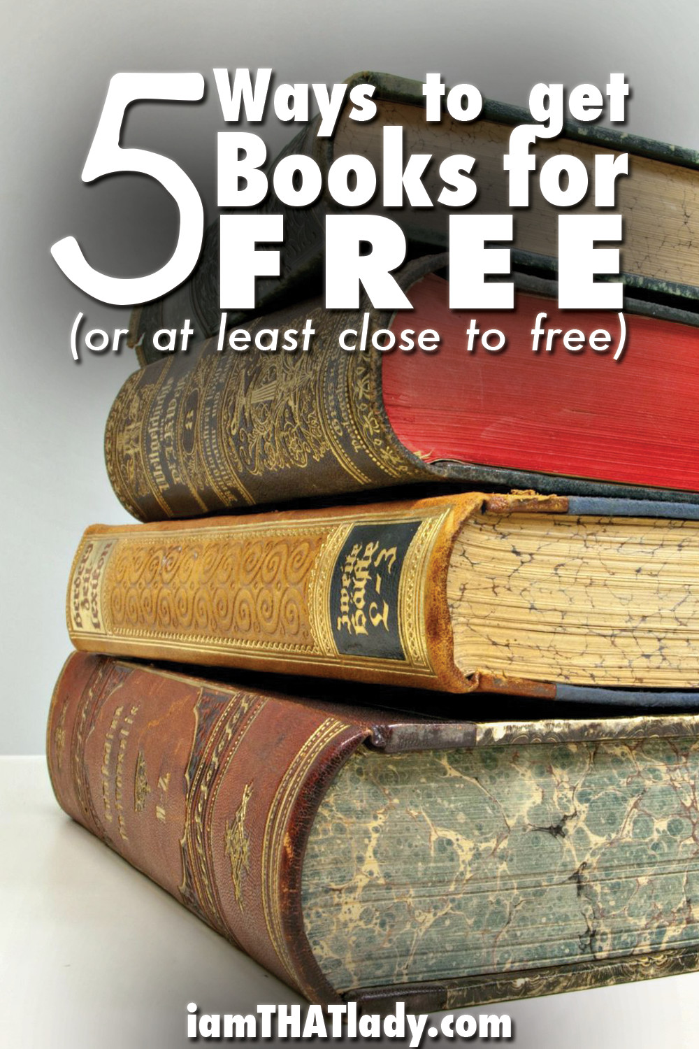 how to get books for free