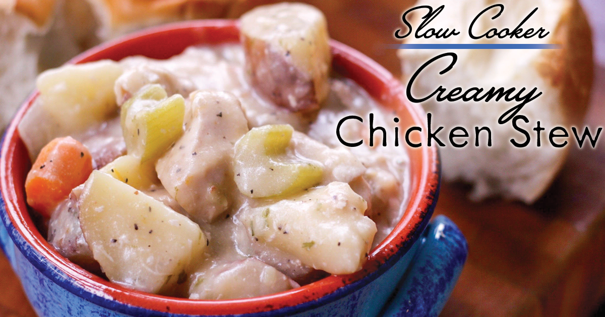 Slow Cooker Chicken Stew FB