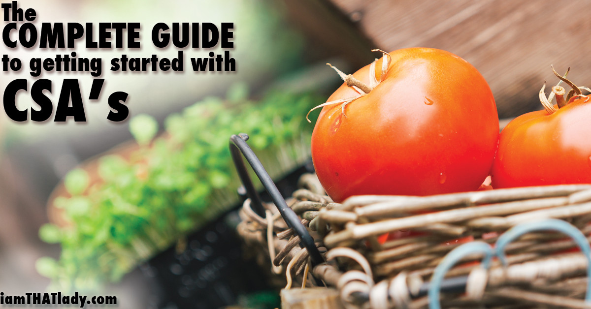 The complete Guide to CSAs FB