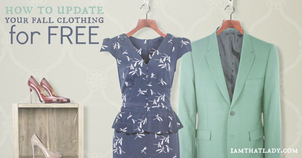 How to Update Your Fall Wardrobe for Free!