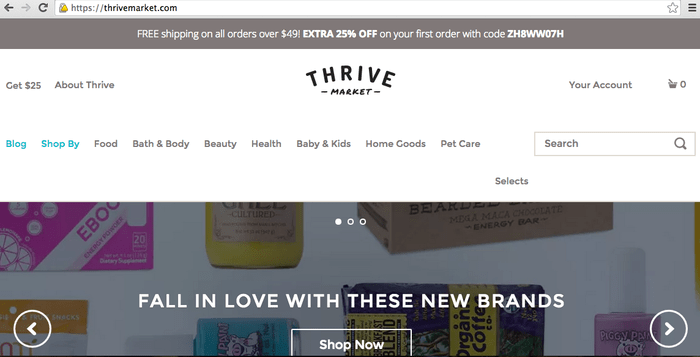 Review of Thrive Market
