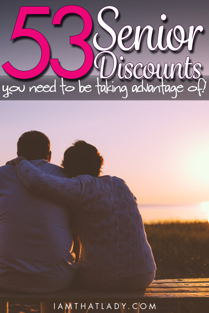 You might be able to save a TON of money with senior discounts. Check out this list of 53 discounts!