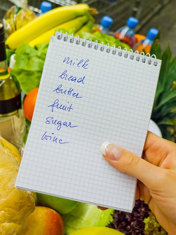 organizing food
