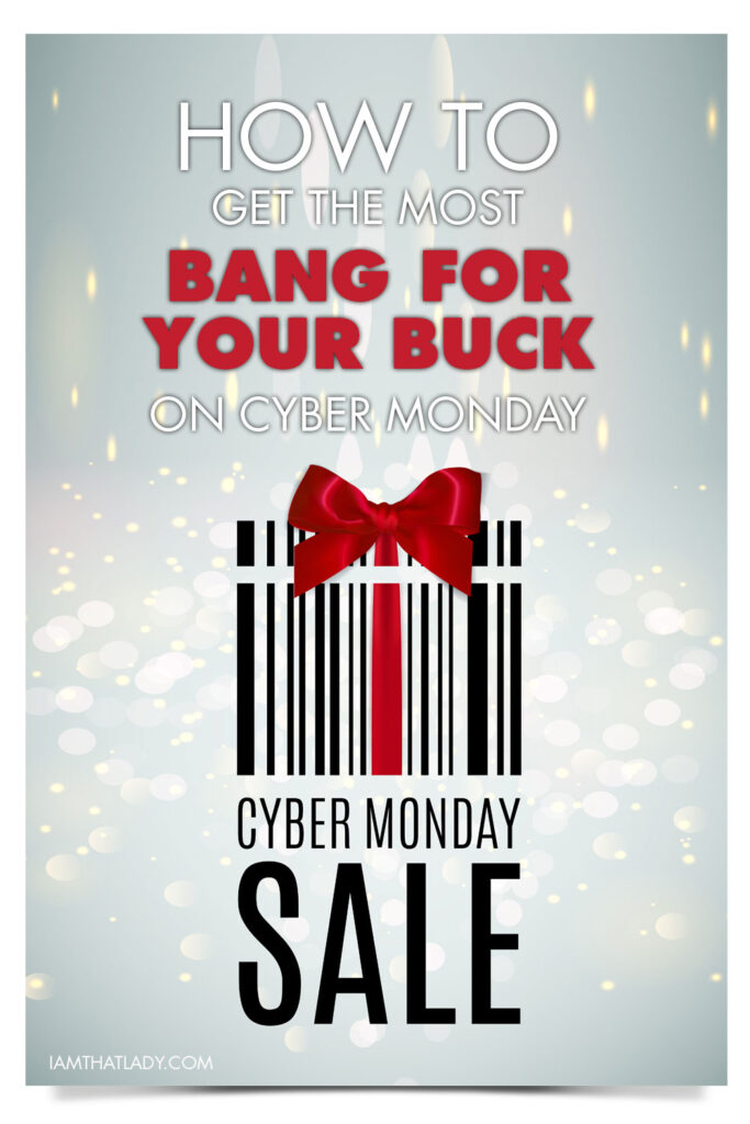 How to save the most amount of money during CyberMonday - there are some great tips in this post!