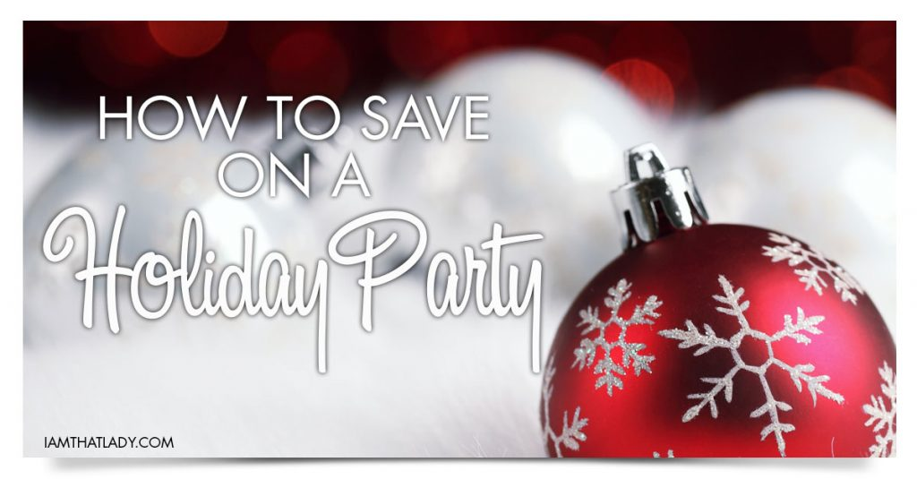 How to Save on a Holiday Party
