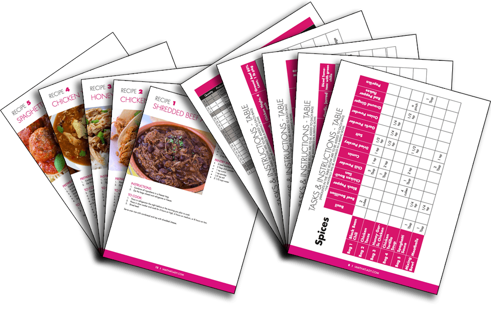 Meal Plan Pages