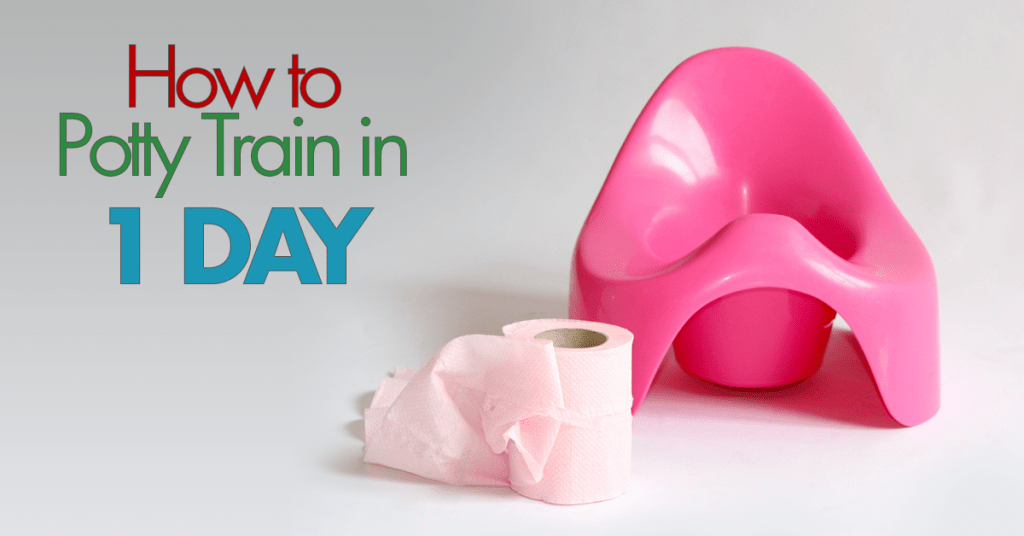 potty train in 1 day FB