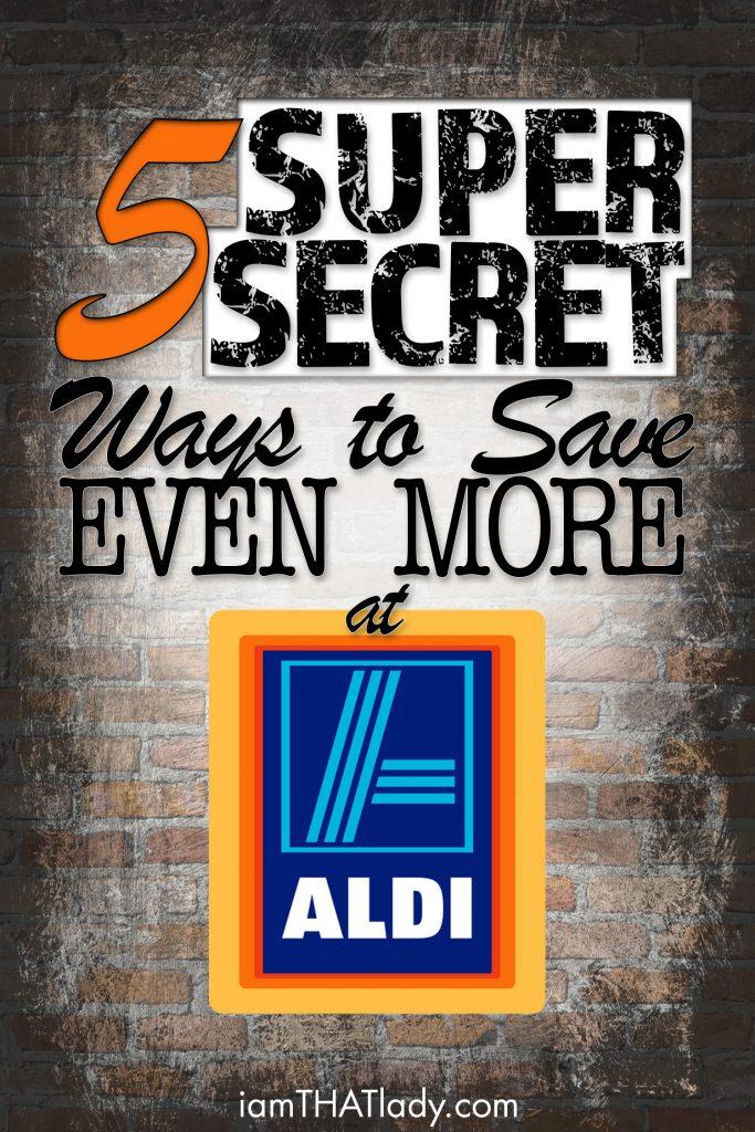 secret ways to save EVEN more money at aldi
