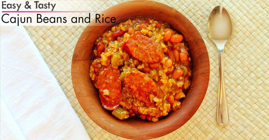 Cajun Beans and Rice FB