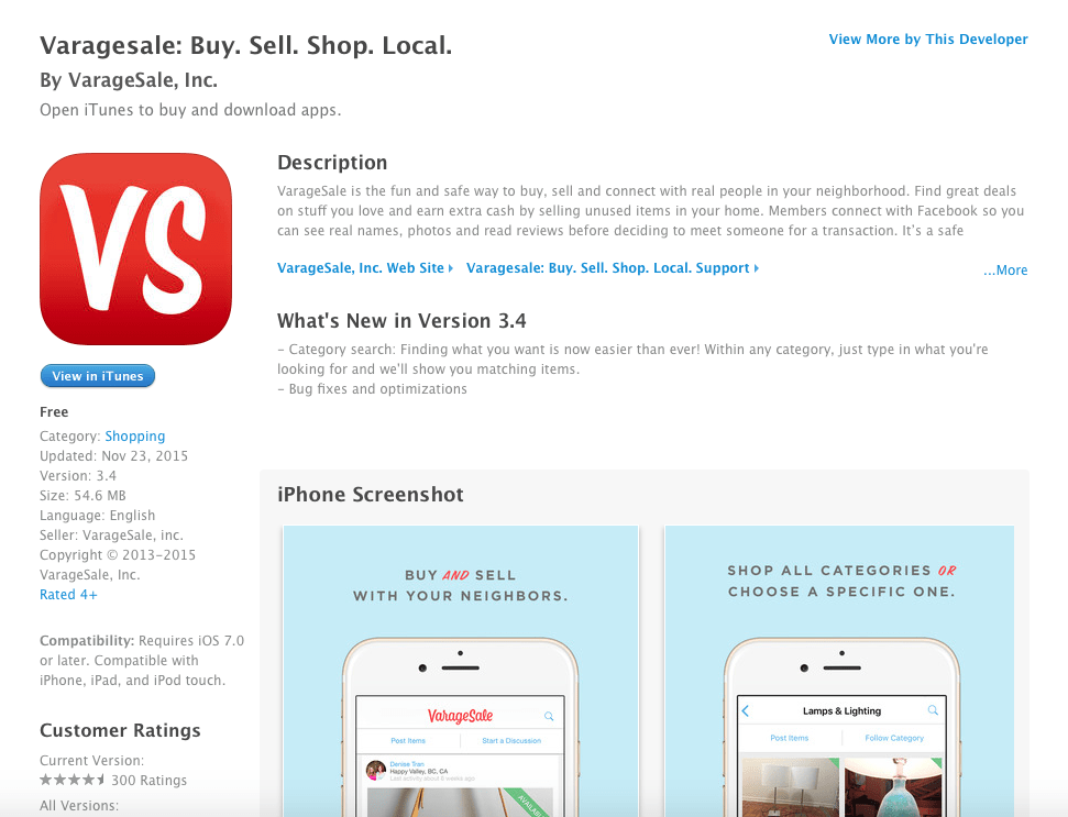 apps for selling items