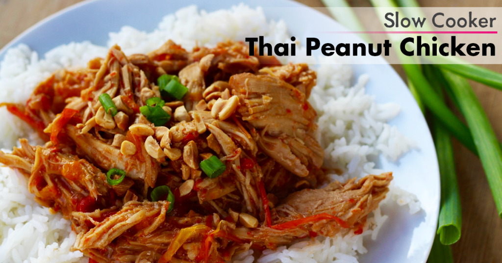 Thai Peanut Chicken FB