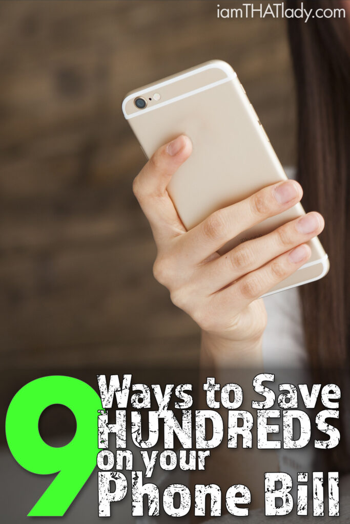 How to Save on Your Phone Bill