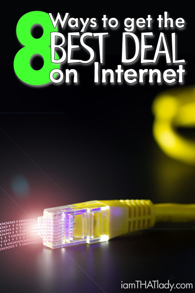 Paying too much for internet? Here are 8 ways to make sure you are getting the best deal possible!