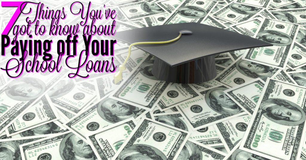Payoff school loans FB