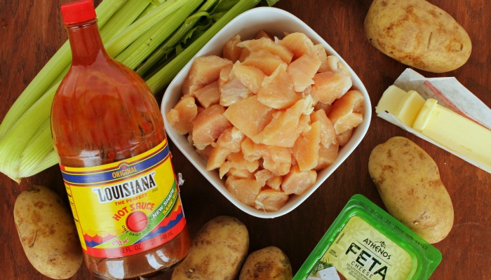 buffalo chicken potato skins ingredients