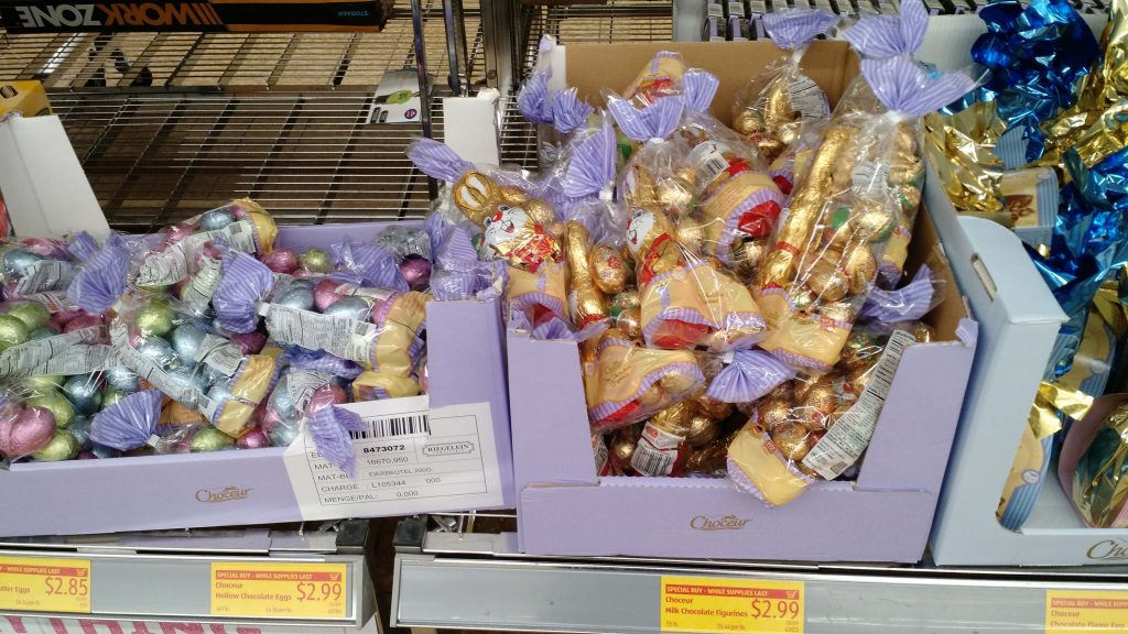 Easter candy at ALDI