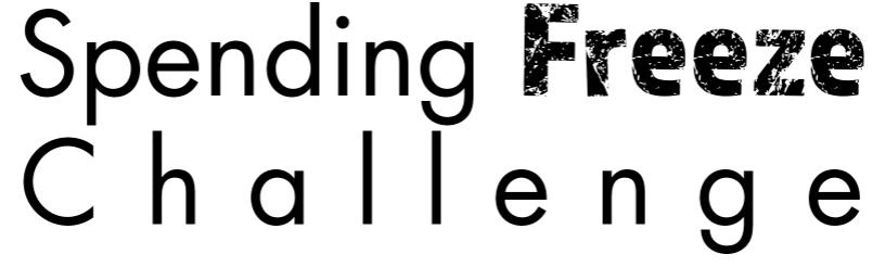 SPENDING FREEZE CHALLENGE