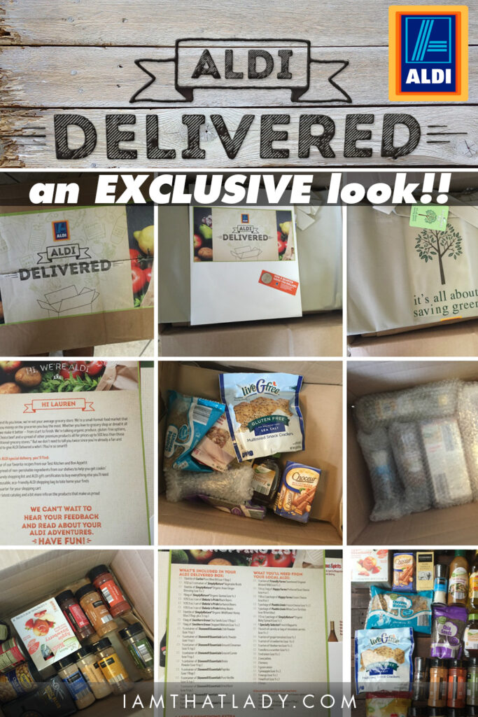 ALDI is amazing - and ALDI Delivered is SO COOL - you have to check this out!