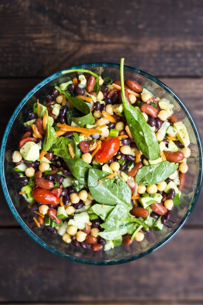 Bean Salad Aldi Pin