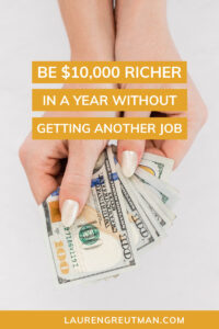 how to be richer this year