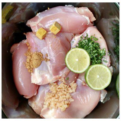 crockpot chicken verde