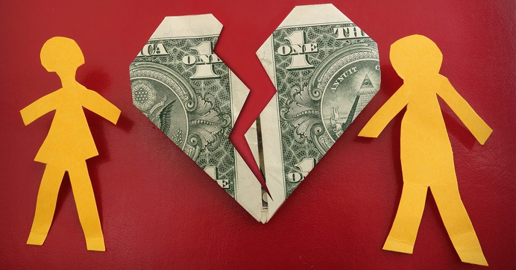 money ruin relationships