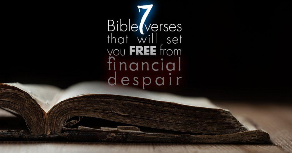 Bible verses about finances