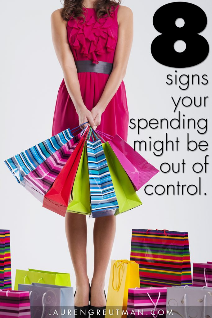 8 Signs you may be a Spender