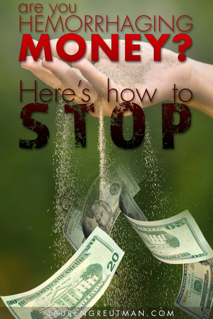 Does money just seem to leave your bank account and you can't track it down? Here's why and hot to STOP it for good!