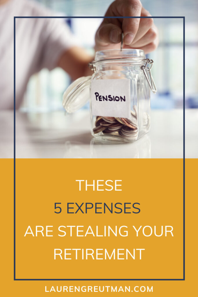 Expenses Stealing your Retirement