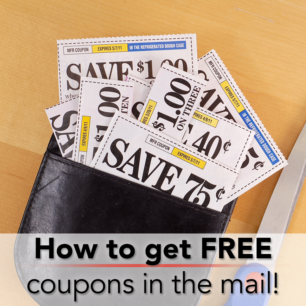 how to get free coupons