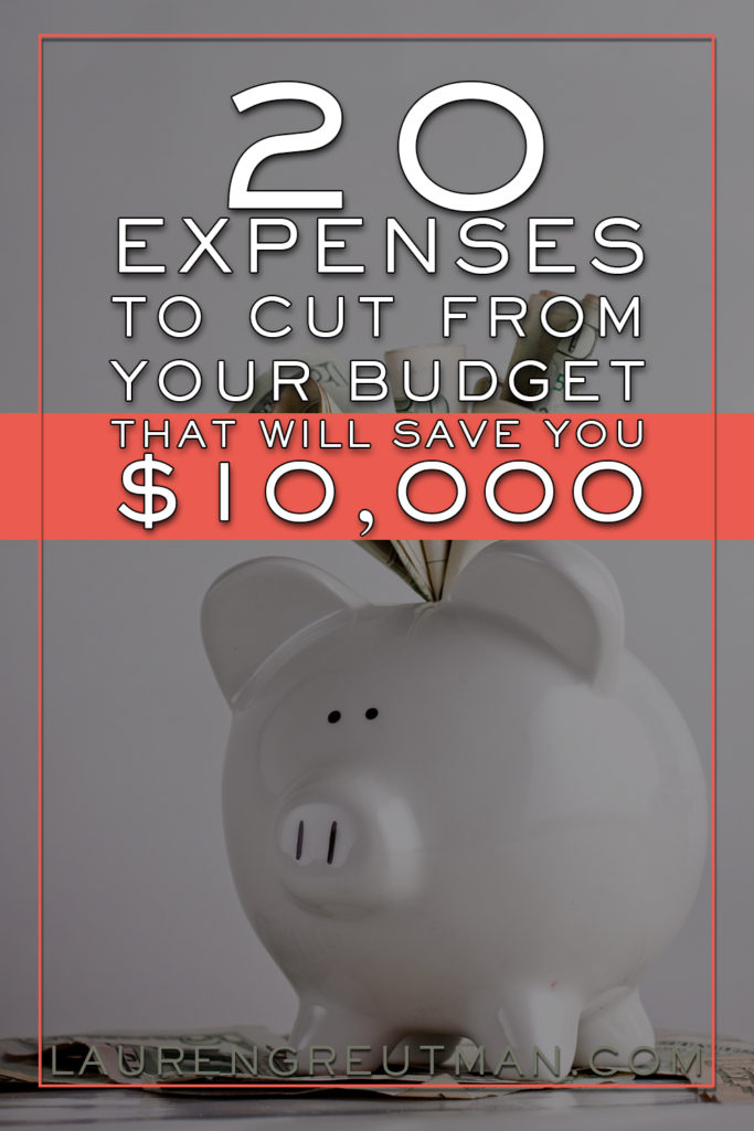 Ways to cut expenses