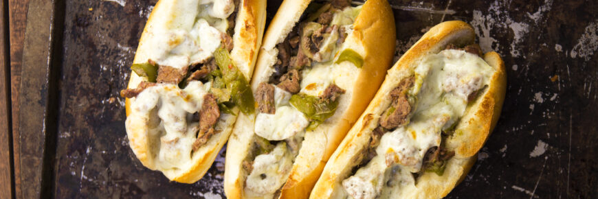 cheese steak recipe