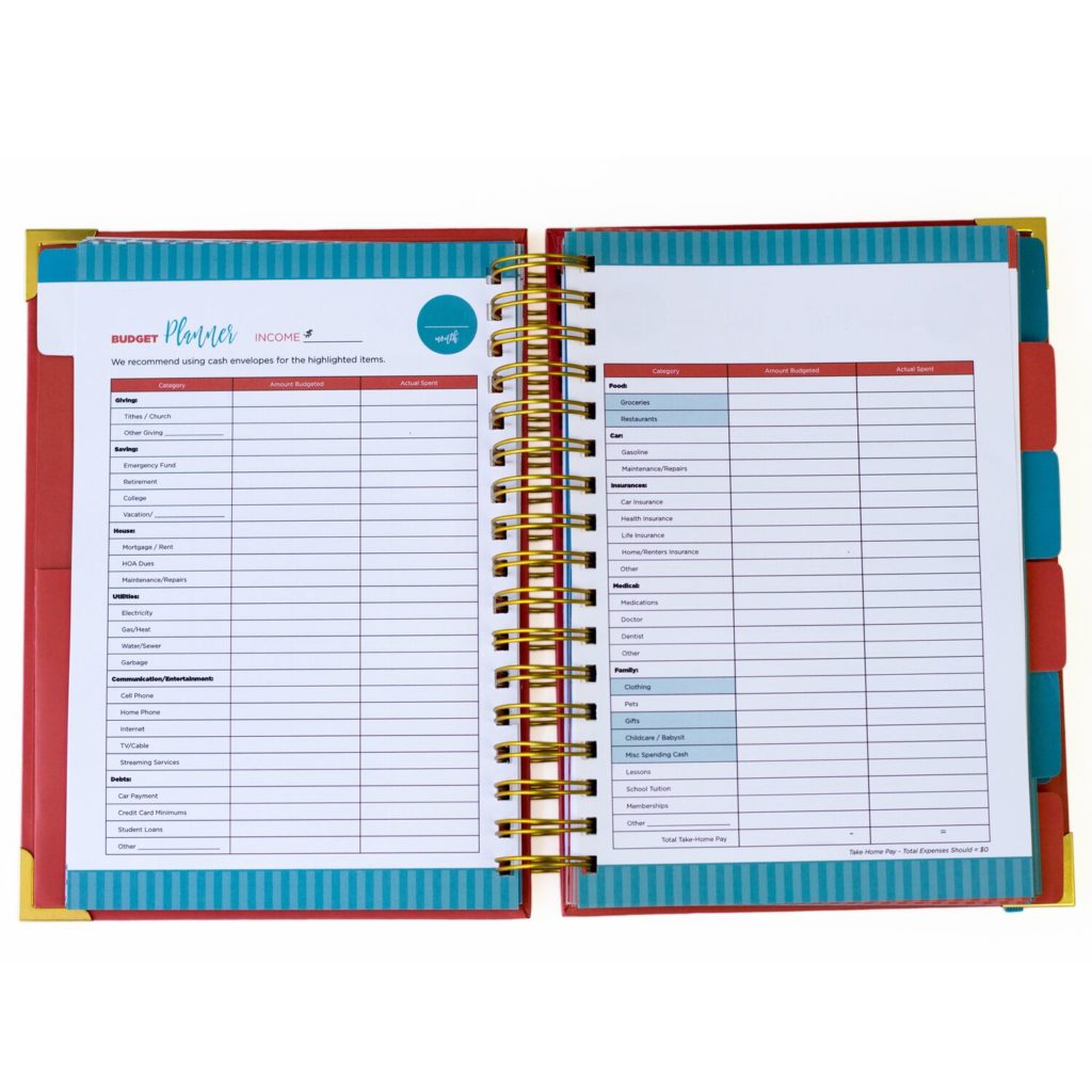 Benefits of Using a Budget Planner