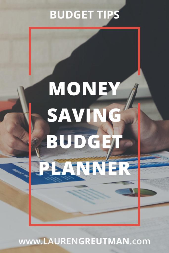 Money Saving Budget Planner