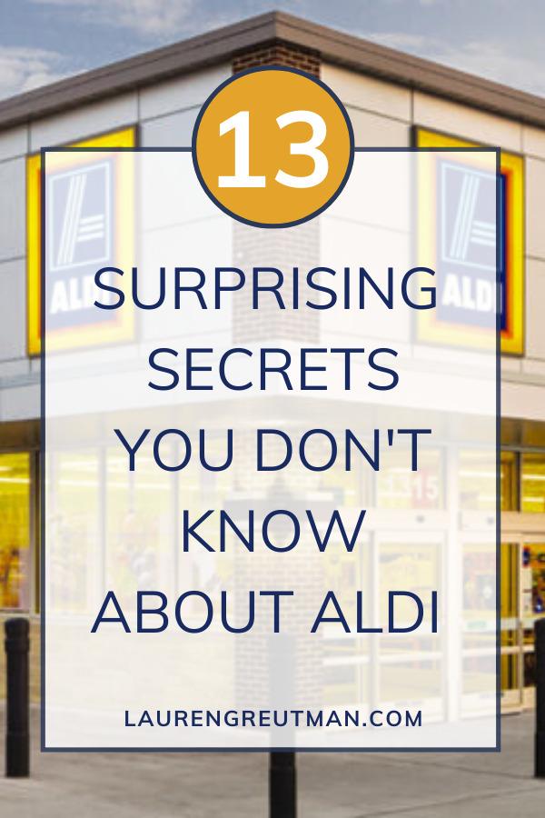 Secrets you don't know about ALDI
