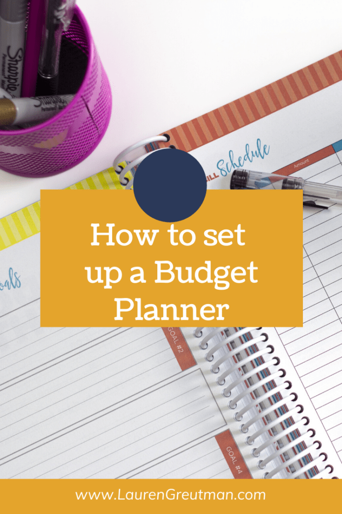 How to Set Up a Budget Planner